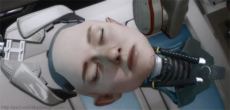 Kara being put together
