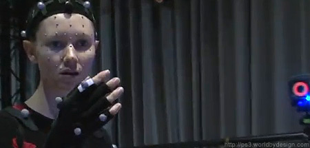 Motion capture for Kara